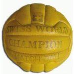 Swiss World Champion, el Balón del Mundial Suiza 1954