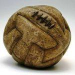 Balón Modelo en T, de Uruguay, usado por Argentina en la Final del Mundial Uruguay 1930