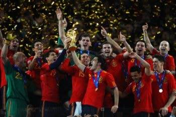 Mundial Sudráfrica 2010, primer título para España