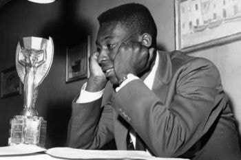 Suecia 1958 fue el primer mundial de Pelé