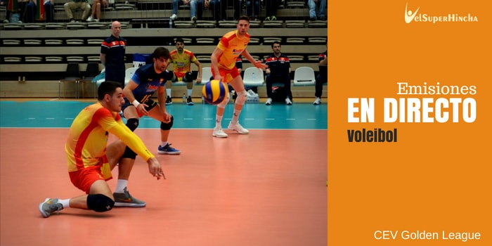 Voleibol En Directo. CEV Golden League Jornada 2