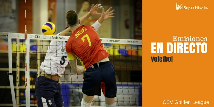 Voleibol En Directo. CEV Golden League, Jornada 3