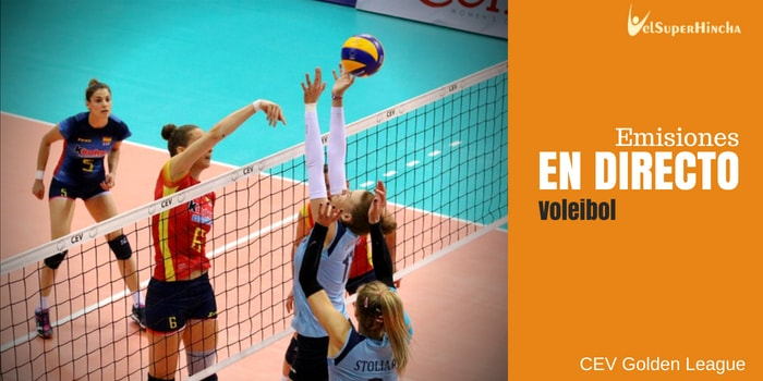 Voleibol En Directo. CEV Golden League Jornada 4