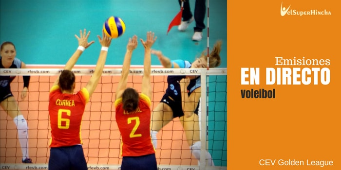CEV Golden League de Voleibol En Directo. Jornada 5