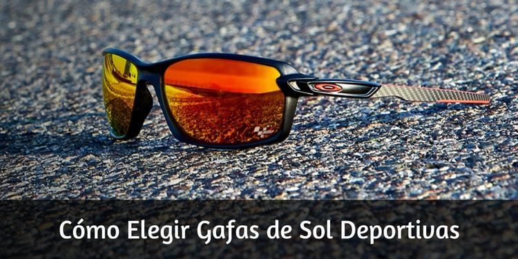 Cómo elegir gafas de sol deportivas