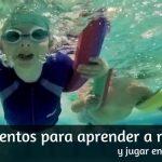 Flotadores, Manguitos y otros elementos para Aprender a Nadar y Jugar en el Agua
