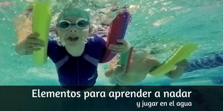 Flotadores, Manguitos y Otros elementos para aprender a nadar