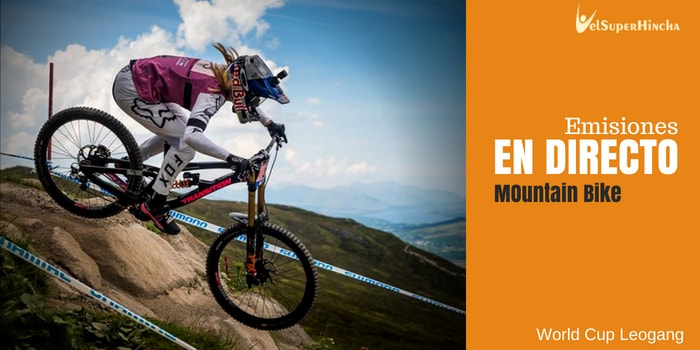 Mountain Bike En Directo. World Cup Leogang 2018