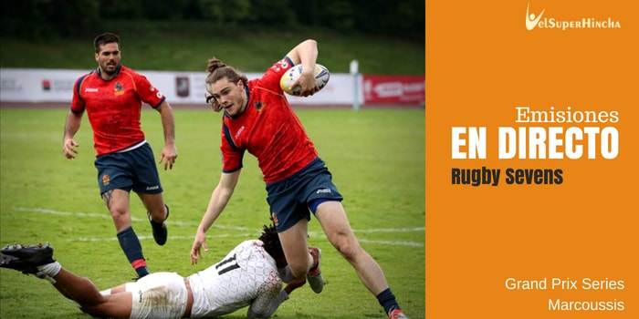 Rugby Sevens Grand Prix Series En Directo. Ronda 1, Marcoussis