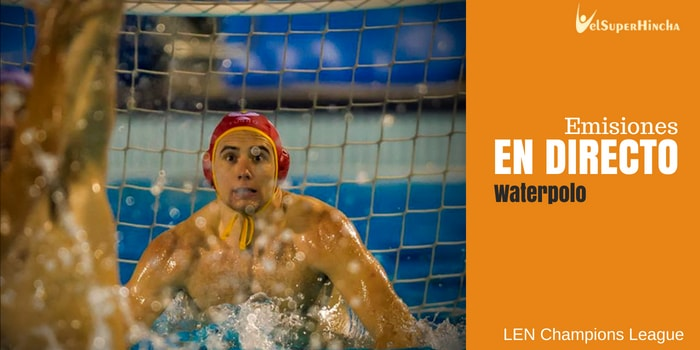 Final 8 LEN Champions League de Waterpolo En Directo. Génova 2018.