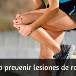 Cómo prevenir la Rodilla de Corredor y otras Lesiones de Rodilla si practicas Running