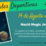 14 de Agosto: Nació Magic Johnson