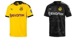 Camiseta Borussia Dortmund - Equipos Champions League 2020