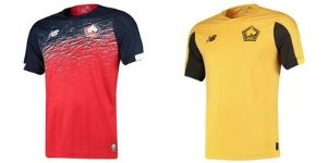 Camiseta Lille Olympique Sporting Club - Equipos Champions League 2019/2020