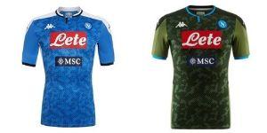 Camiseta SSC Napoli - Equipos Champions League 2019/2020