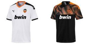 Camiseta Valencia CF - Equipos Champions League 2019/2020