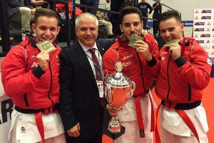 Equipo Español de Karate en Bremen 2014