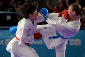 Kumite, o Combate de Karate
