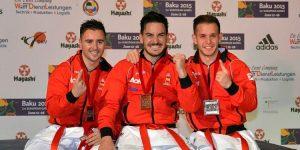 Los 20 Oros de España en Mundiales de Karate