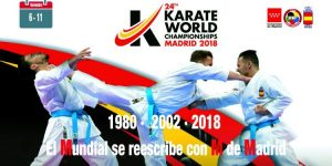Mundial Karate Madrid 2018