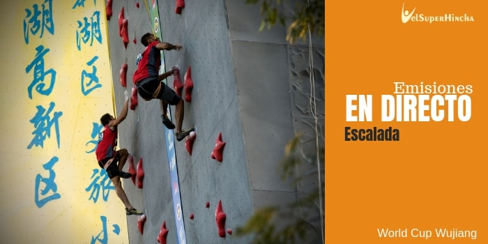 Escalada En Directo. World Cup Wujiang 2018