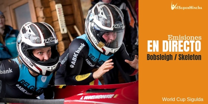 World Cup Sigulda de Bobsleigh y Skeleton En Directo