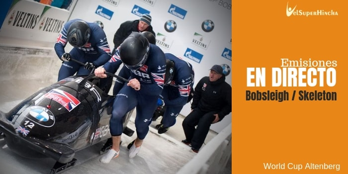 World Cup de Bobsleigh y Skeleton Altenberg En Directo