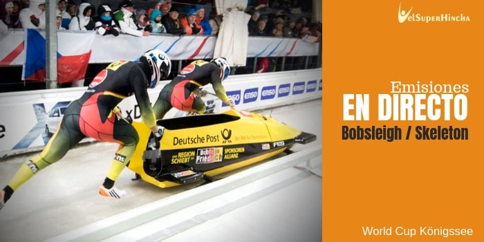 World Cup de Bobsleigh y Skeleton Königsse En Directo