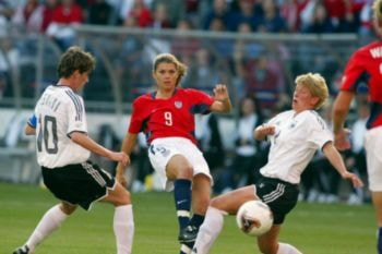 La semifinal de 2003 Estados Unidos - Alemania está considera por muchos como el Mejor Partido de Fútbol Femenino de la Historia