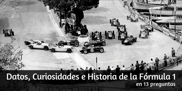 Datos, Curiosidades e Historia de la Fórmula 1 en 13 preguntas