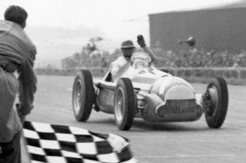 Farina ganó la primera carrera de Fórmula 1