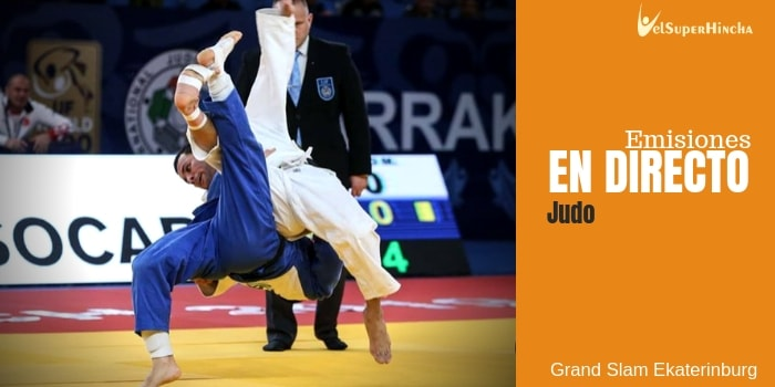 Grand Slam Ekaterinburg Judo En Directo | IJF World Tour Judo 2019