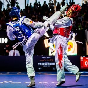 Puntuación en Taekwondo según los golpes