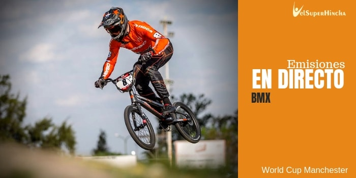 World Cup Manchester de BMX Supercross En Directo