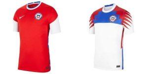 Camiseta Chile. Copa América 2021
