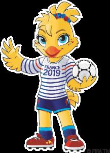 Ettie. Mascota Oficial del Mundial Francia 2019
