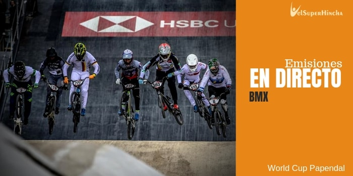 World Cup Papendal de BMX Supercross En Directo