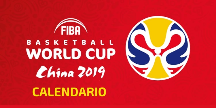 Calendario del Mundial de Baloncesto China 2019