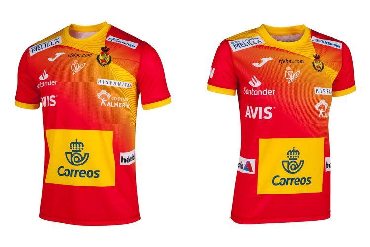 Camiseta Balonmano España (Guerreras e Hispanos)