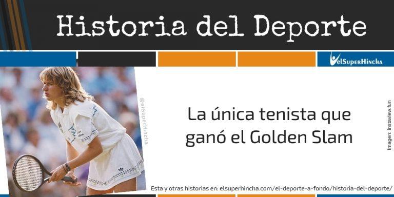 Steffi Graf. La única tenista que ganó el Golden Slam