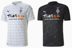 Camiseta Borussia Mönchengladbach - Equipos Champions League 2021