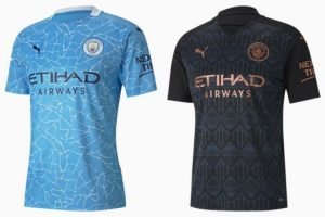 Camiseta Manchester City - Equipos Champions League 2021