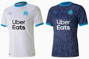 Camiseta Olympique Marsella - Equipos Champions League 2020/21