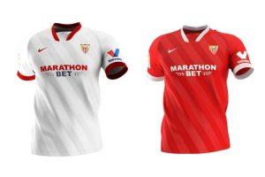 Camiseta Sevilla CF - Equipos Champions League 2020/2021