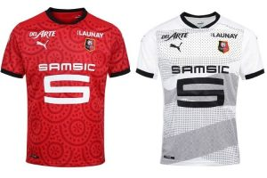 Camiseta Stade Rennais - Equipos Champions League 2020/2021
