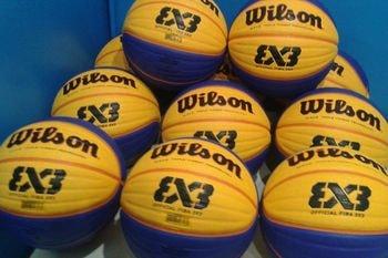 Balones Wilson para Baloncesto 3x3