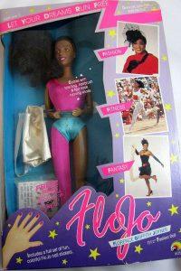 FloJo, la muñeca inspirada en Florence Griffith Joyner