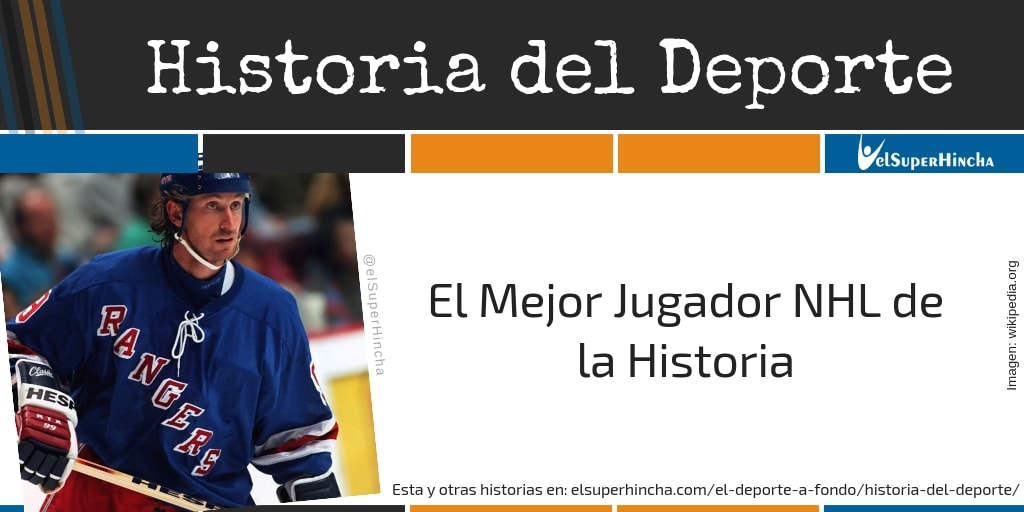 Wayne Gretzky. El Mejor Jugador NHL de la Historia...