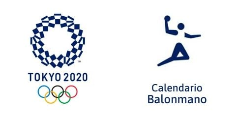 Calendario Balonmano Tokio 2020