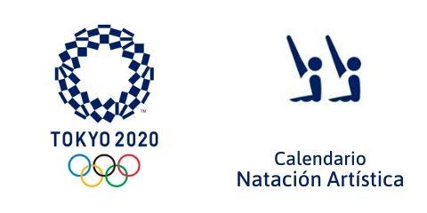 Calendario Natación Artística Tokio 2020